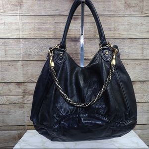 Botkier Leather Tote w/chain detail